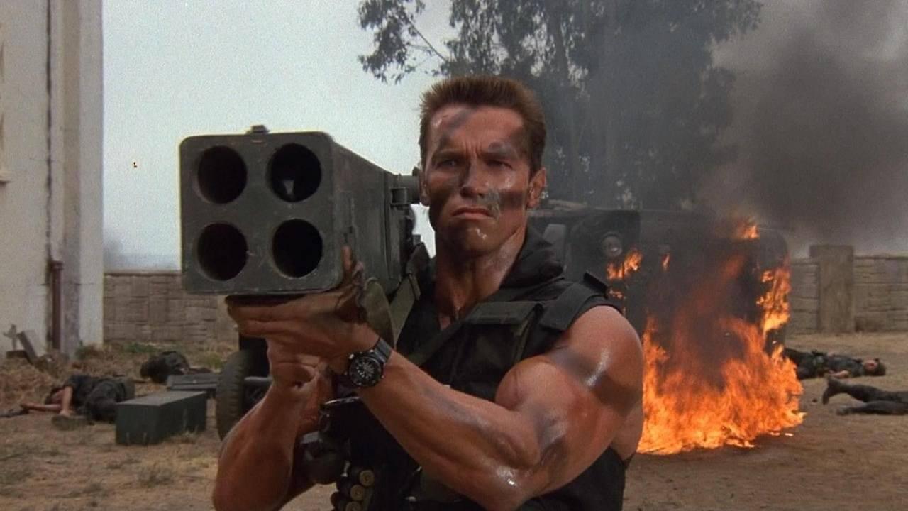 De Bedste Actionfilm fra 80'erne