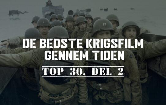 De bedste krigsfilm gennem tiden – Top 30. del 2